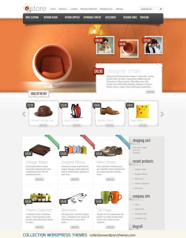 Mejores Temas WordPress para Comercio Electrónico 2013 • inkieto.com